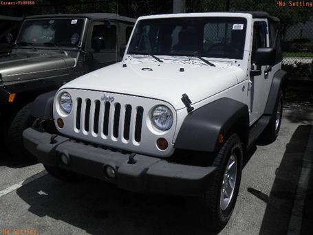 2009 Jeep Wrangler X - Only 1,045 Miles (and a clunky  handshaker in the middle)