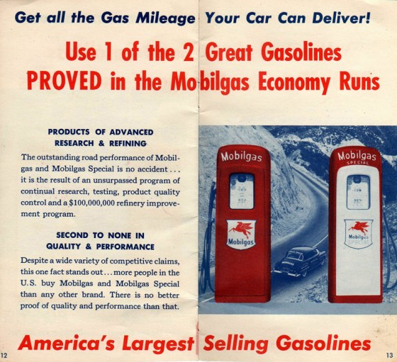 1951 Mobilgas Economy Run Booklet-12-13