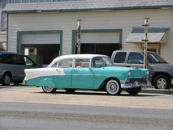 1956 Chevrolet sedan South Texas