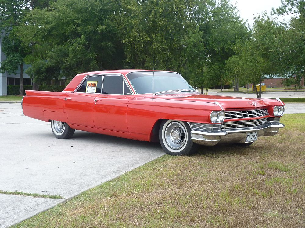 CC For Sale: 1964 Cadillac Sixty-two Series –A Little Too Much Rouge ...
