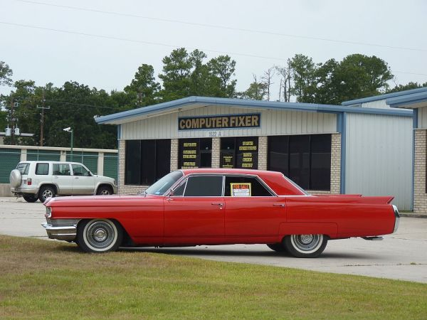 1964 Cadillac left side