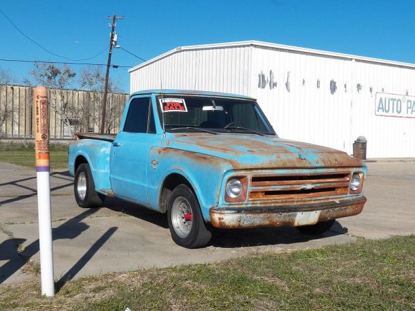 1968 Chrevrolet short-bed pickup Victoria TX
