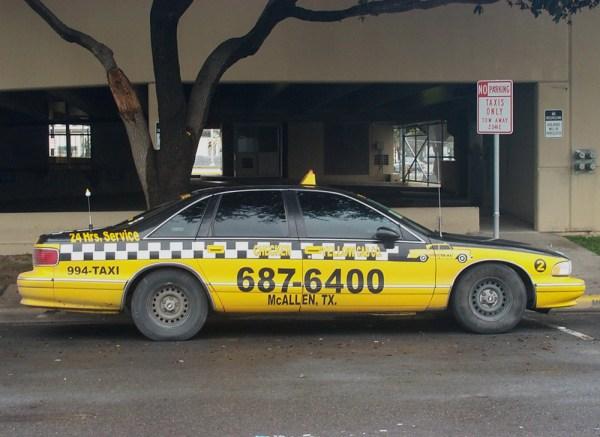 1993-96 Chevy Caprice Taxi Mcallen TX  Sep 03
