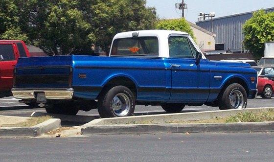 4- Chevy PU