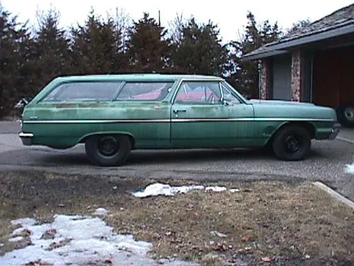 Chevelle 1964 300 two-door wagon