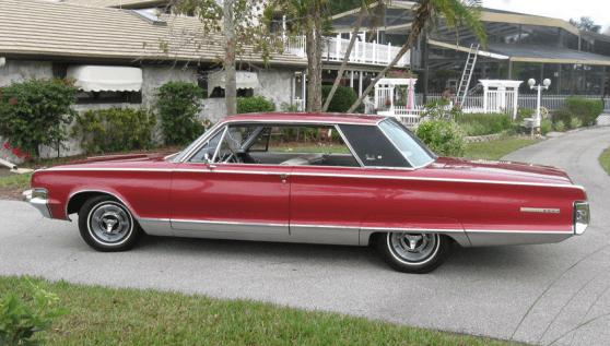 Chrysler 1965 NY coupe