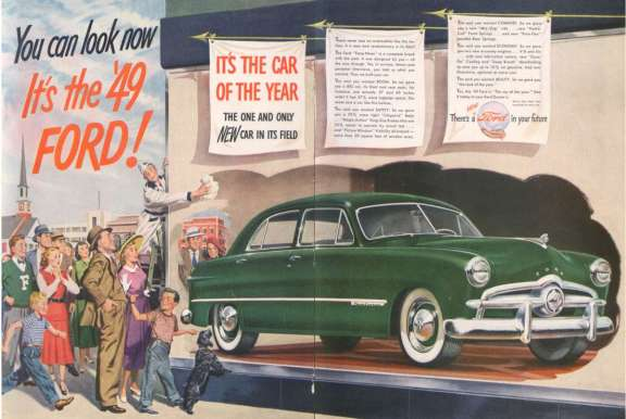 Ford 1949 ad