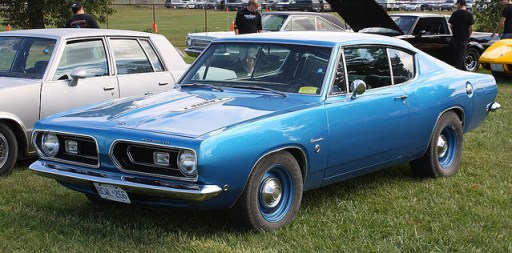 Plymouth 1968 Barracude formula S