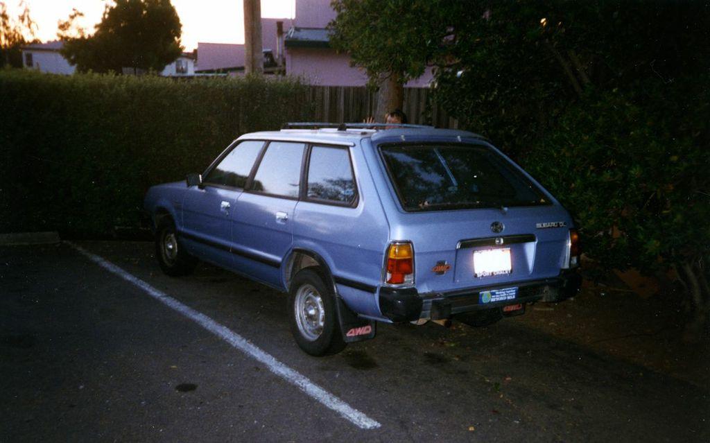 1982 subaru wagon
