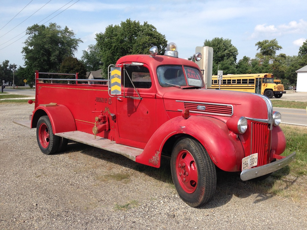 Fire Truck Classic: 1941 Ford With Howe Body – Hey Buddy, Where\'s ...