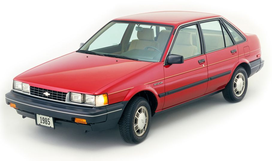 Curbside Classic 1988 Chevy Twin Cam Nova A Toyota From