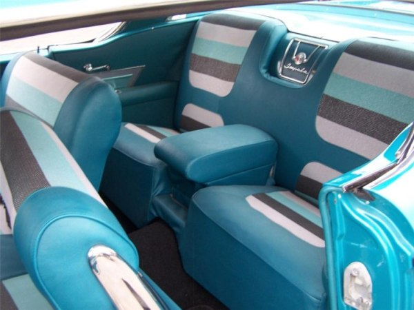 Chevrolet 1958 Impala rear seats