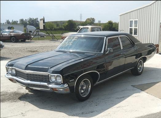 Chevrolet 1970 black