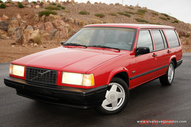 COAL: 1990 Volvo 740 Turbo Wagon – In Sweden They Spell