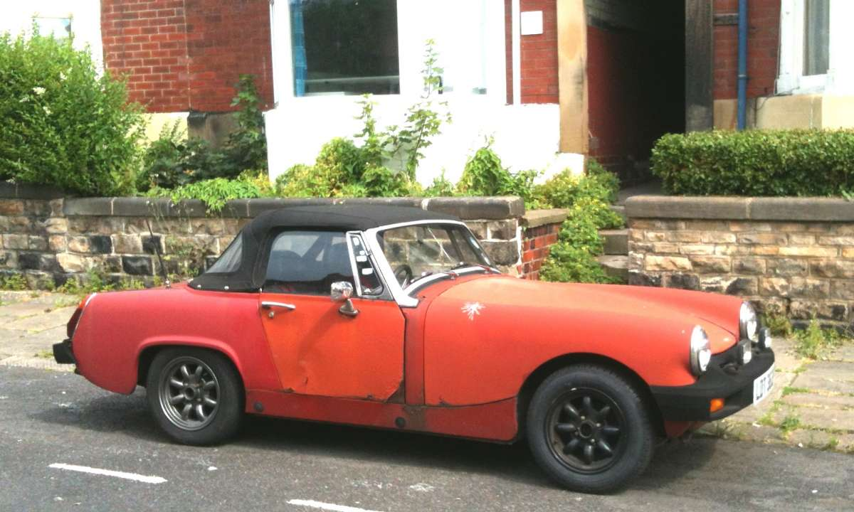 Curbside Classic 1976 Mg Midget Always Simple And