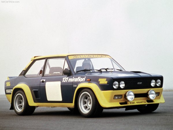 1976 Fiat 131 Abarth Rally