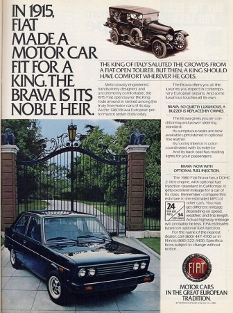 1980 Fiat Brava