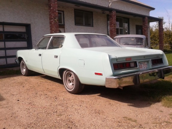 AMC Matador 1974 rear quarter