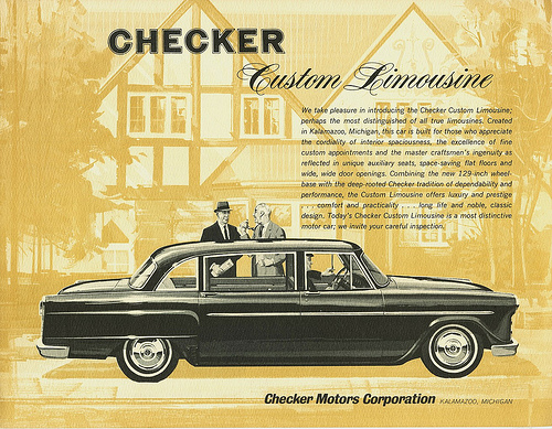 Checker limo