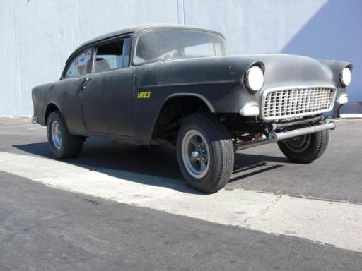 Chevrolet 1955 straight axle 1