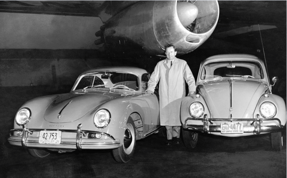 Porsche 356 and Beetle