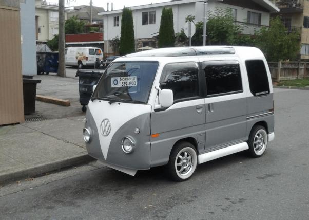 VW bus Jappa van