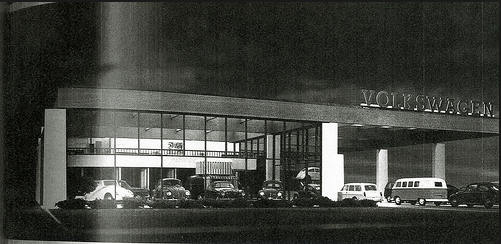VW dealership 60s