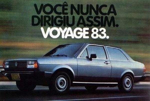 Vw voyage brazil 1982 for Parati classici
