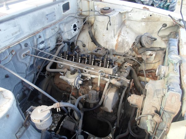 1977 Toyota Corolla engine
