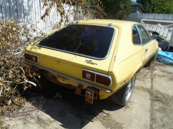 1978 Ford Pinto V6 rear