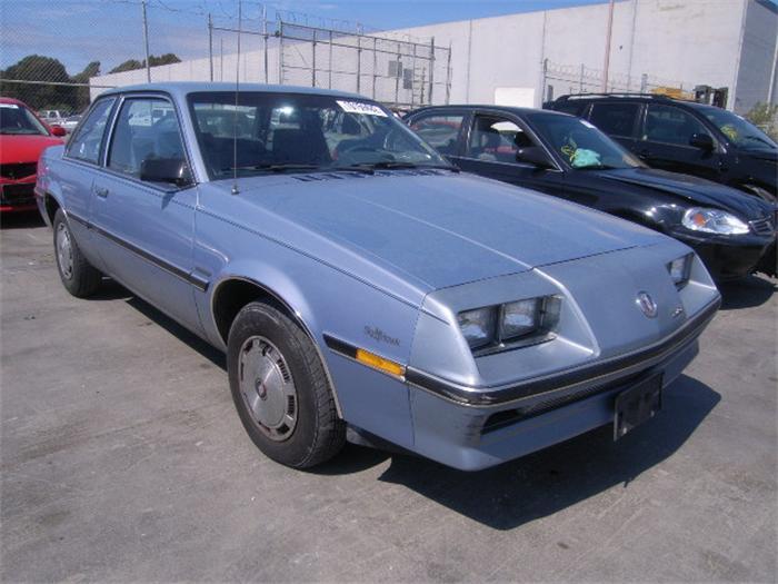 Curbside Capsule 1984 Buick Opel Skyhawk Ascona Cc