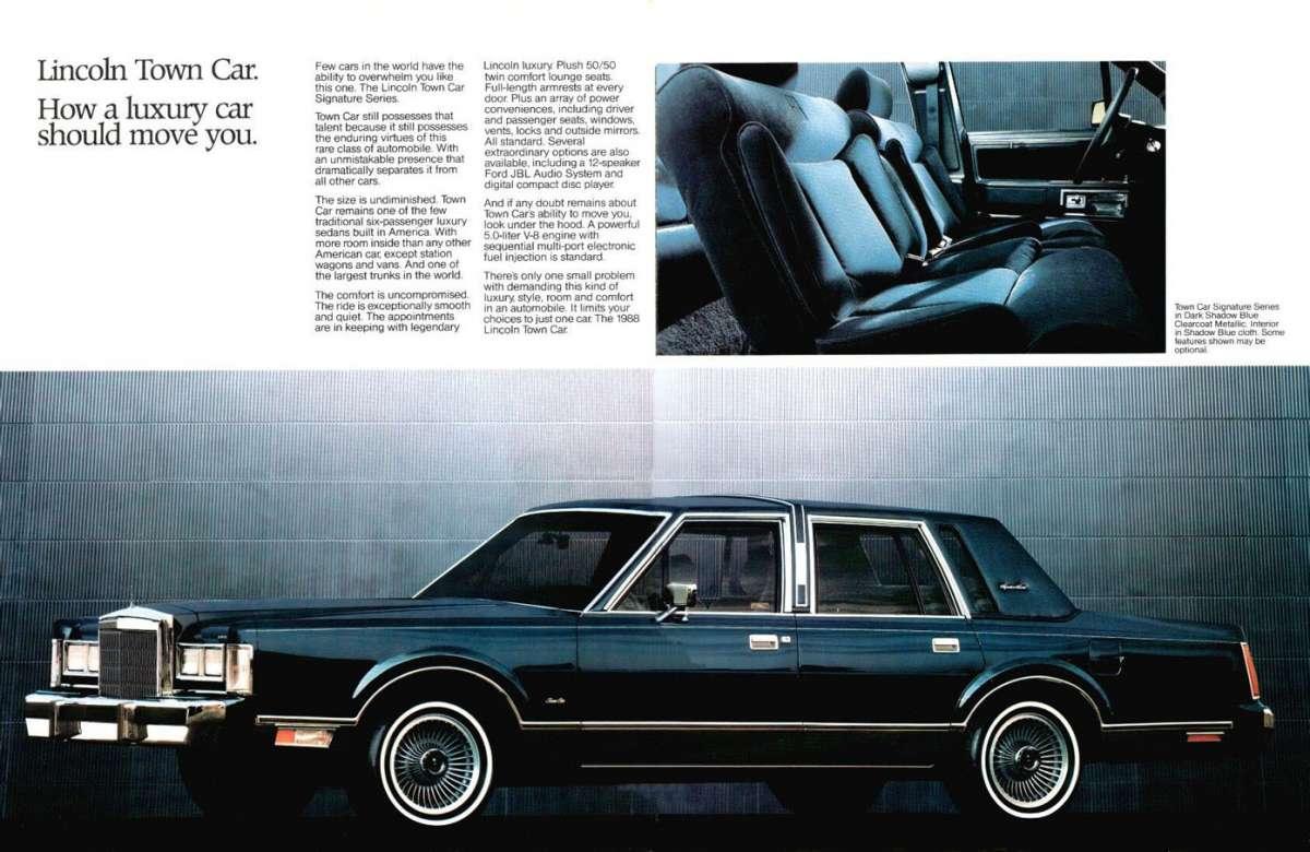 car show capsule 1988 lincoln town car black cherry landau sundae. Black Bedroom Furniture Sets. Home Design Ideas