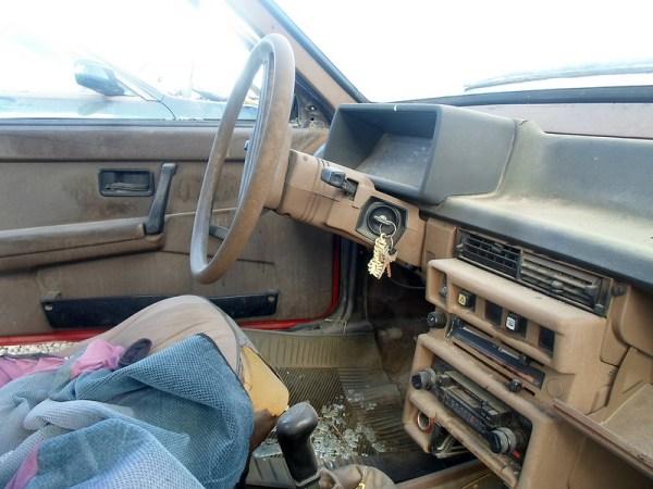 1988 Lada Samara interior