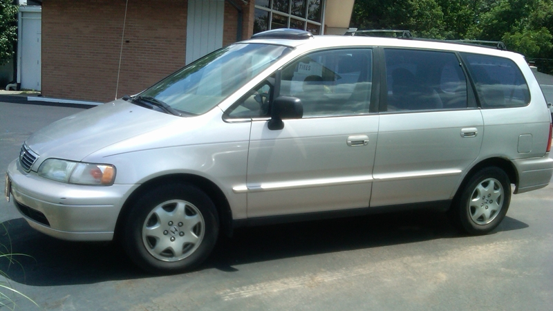 curbside classic 1995 honda odyssey ex how hard can it