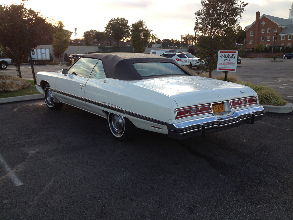 Cohort Classic: 1974 Chevrolet Caprice Classic Convertible – The ...