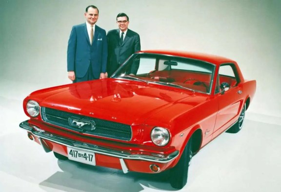 Iacocca Mustang and Donal Frey