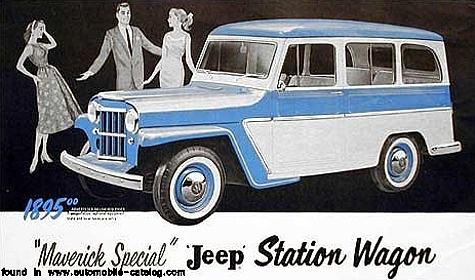 Curbside Classic 1946 Willys Jeep Station Wagon The First Modern