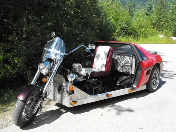 Pontiac Fiero trike 3