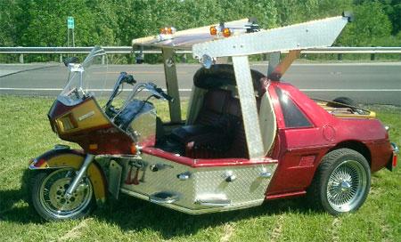 Pontiac Fiero trike 5