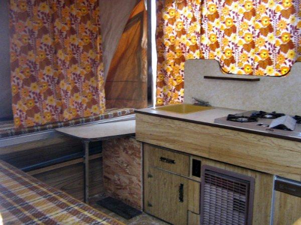 1976 Bonair 1150 Tent Trailer