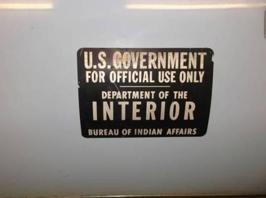 AMC Concord hearse sign