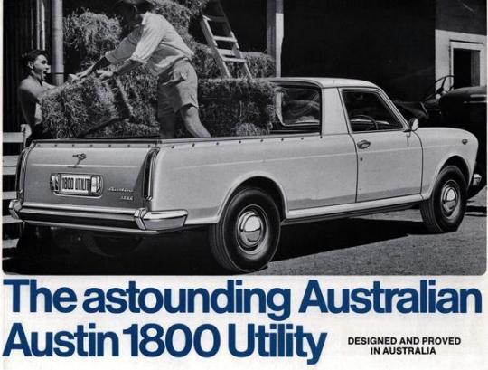 Austin 1800 ute 2