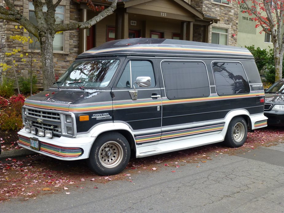 Image result for 1980s ford family vans