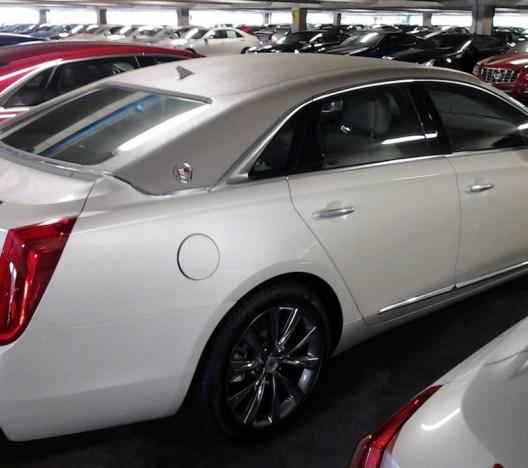 Cadillac 2013 XTS vinyl top