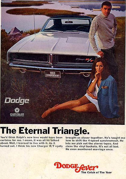 Dodge Charger 1969 ad