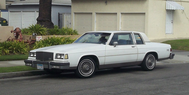 Curbside Classic 1984 Buick Lesabre Limited Coupe I Don T Remember That Roofline Curbside Classic