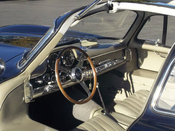 Gullwing-Interior