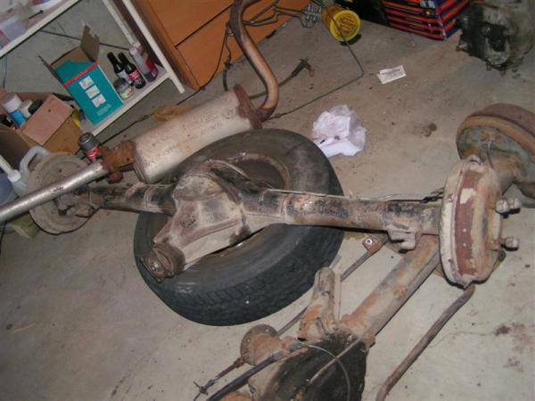 Hyundai Pony Axle