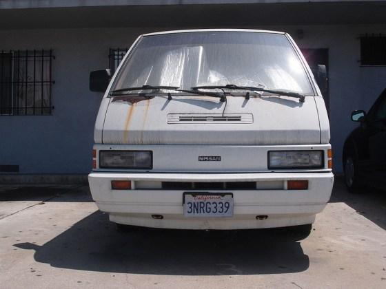 Nissan van f