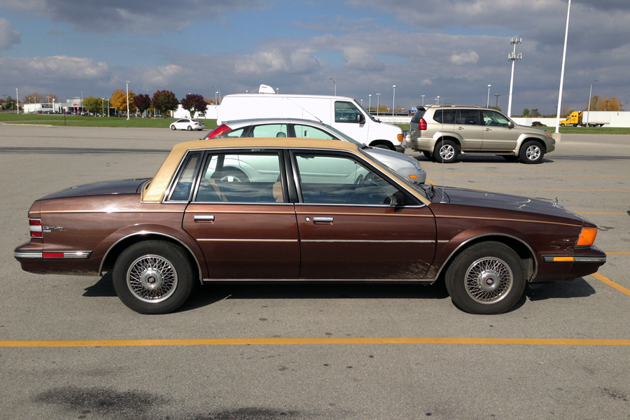 curbside classic 1988 buick century � direct from the